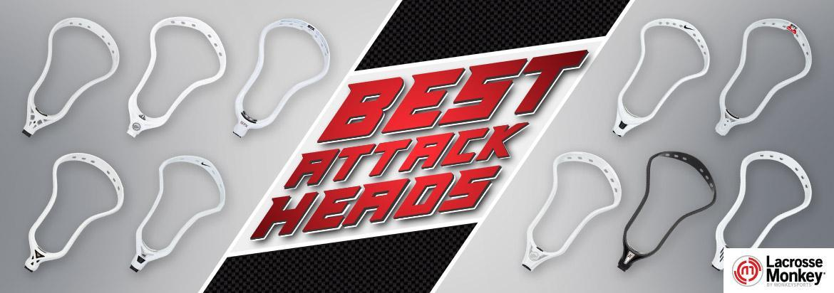 Best Attack Lacrosse Heads: Top 10 Attack LAX Heads for 2021
