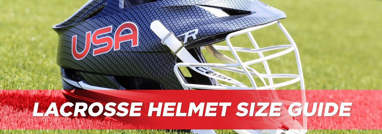 Lacrosse Helmet Sizing Guide & Chart | LacrosseMonkey
