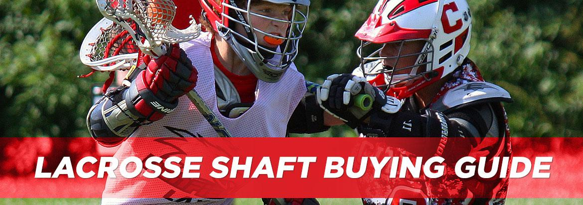 Lacrosse Shaft Buying Guide: Weights, Materials & Shapes!