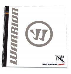 Warrior Men's Lacrosse Scorebook - White