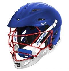 Warrior Evo Matte Custom Lacrosse Helmet