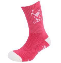 Adrenaline Breast Cancer Socks