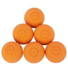 Brine NOCSAE/NFHS Lacrosse Balls - 6 Pack