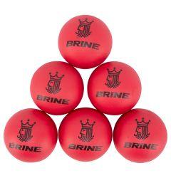Brine Practice Lacrosse Ball - 6 Pack