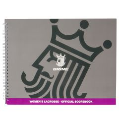 Brine Official Women's Lacrosse Scorebook - '18 Model