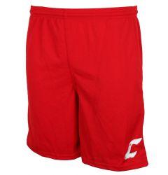 Combat Solid Senior Shorts - Red/White