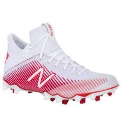 New Balance Freeze LX 2.0 Men's Lacrosse Cleats - White/Red