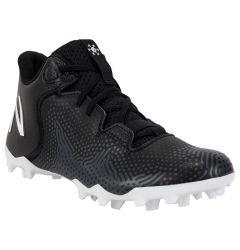 New Balance Freeze LX 3.0 Youth Lacrosse Cleats - Black/Gray
