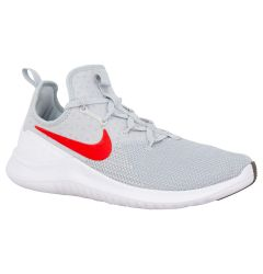 Nike Free TR 8 Men's Training Shoes - Pure Platinum/Habanero Red/White