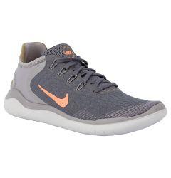 Nike Free RN 2018 Women's Running Shoes - Gunsmoke/Crimson Pulse/Atmospheric Grey
