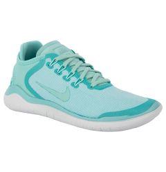 Nike Free RN 2018 Women's Running Shoes - Island Green/Igloo/Vast Grey