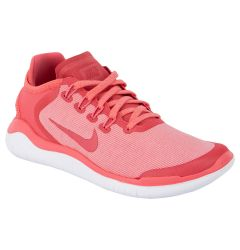 Nike Free RN 2018 Women's Running Shoes - Sea Coral/Tropical Pink/Vast Grey