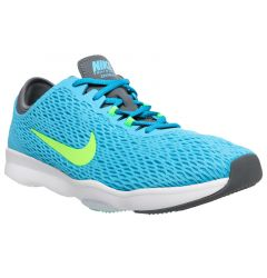 Nike Zoom Fit Women's Training Shoes - Clearwater/Flash Lime