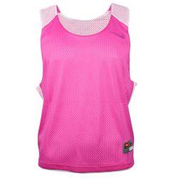 Nike Reversible Lacrosse Tank - Pink Fire/White