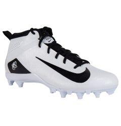 Nike Huarache Varsity Mid Lacrosse Cleats  - White/Black
