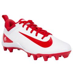 Nike Alpha Huarache 7 Youth Lacrosse Cleats - White/Red