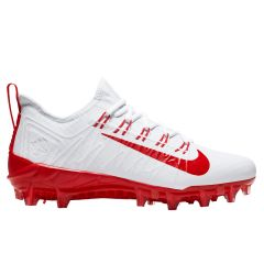 Nike Alpha Huarache 7 Pro Adult Lacrosse Cleats - White/Red - '19 Model