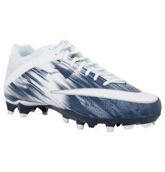 Nike Vapor Speed 2 Men's Lacrosse Cleats - White/Navy - '19 Model