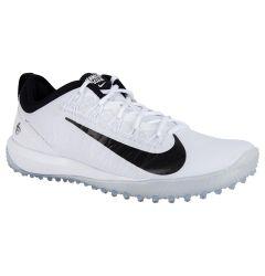 Nike Huarache Pro Lacrosse Turf Shoes - White/Black