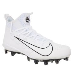 Nike Huarache 6 Elite Men's Lacrosse Cleats - White/Black