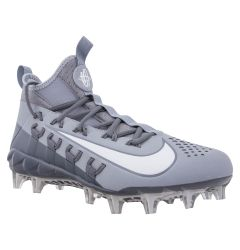 Nike Huarache 6 Elite Men's Lacrosse Cleats - Wolf Gray/White/Cool Gray