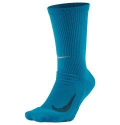 Nike Elite Cushioned Senior Crew Running Socks-Blue
