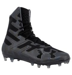 Under Armour Highlight MC Men's Lacrosse Cleats - Black/Grey
