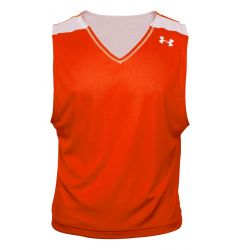 Under Armour Lacrosse Practice Jersey - Dark Orange/White