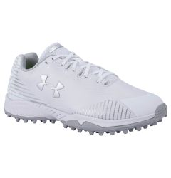 Under Armour Finisher Women's Lacrosse Turf Shoes - White