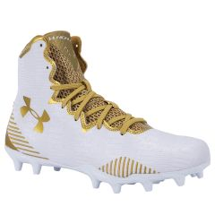 Under Armour Highlight Molded Women's Lacrosse Cleats - White/Gold