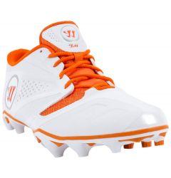 Warrior Burn 7.0 Low Lacrosse Cleats - Orange