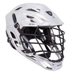 Warrior Burn Chrome Lacrosse Helmet