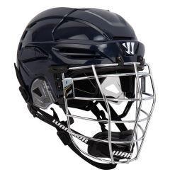 Warrior PX2 CSA Box Chrome Lacrosse Helmet - Navy