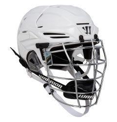 Warrior PX2 CSA Box Chrome Lacrosse Helmet - White