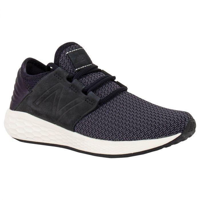 New Balance Fresh Foam Cruz v2 Nubuck Women's Running Shoes - Black