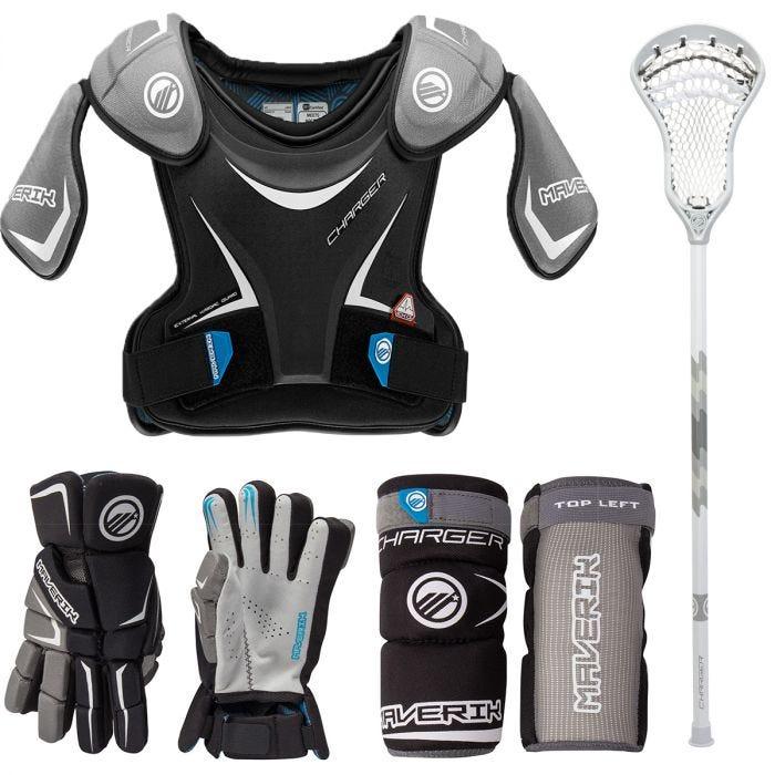 Maverik Charger EKG Deluxe Lacrosse Starter Kit - Best For Ventilation