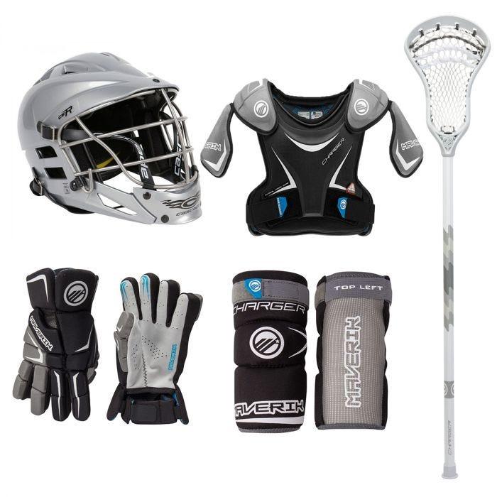 Maverik Charger EKG Ultimate Lacrosse Starter Kit - Best For Protection