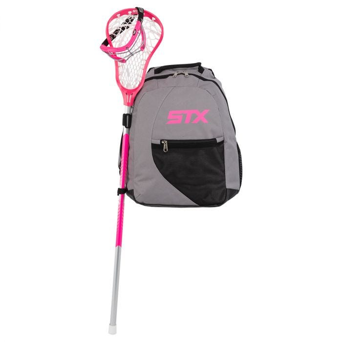STX Exult 200 Women's Complete Lacrosse Stick w/ BackPack - High-quality Content