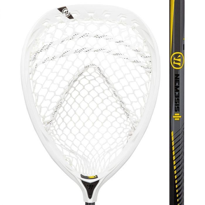 Warrior Nemesis 3 Complete Goalie Lacrosse Stick - Best For Control