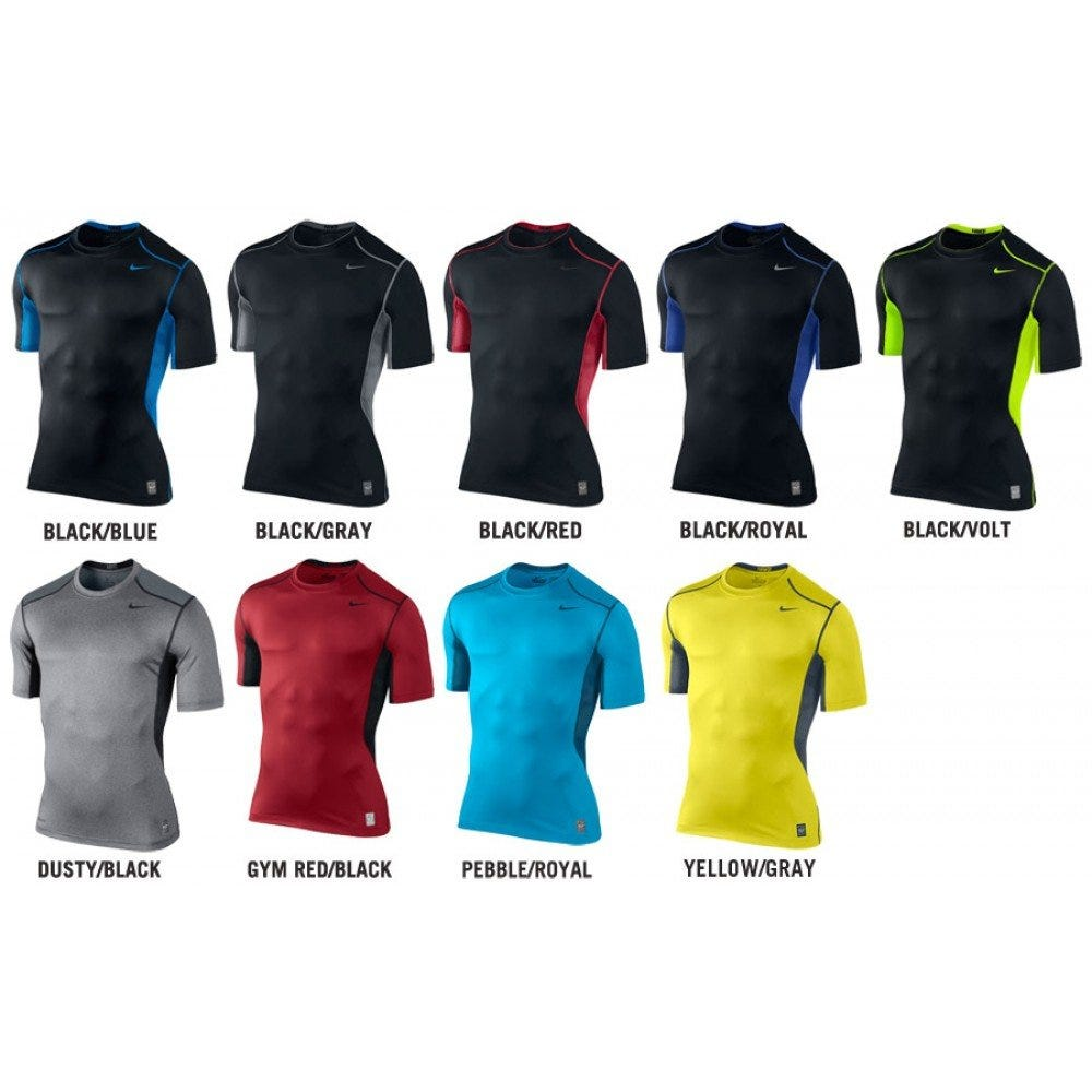 Nike Pro Combat Hypercool Fitted 2.0 Adult Short Sleeve Shirt