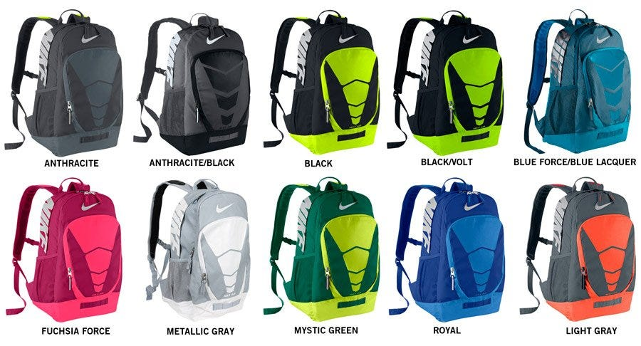nike air max vapor backpack black