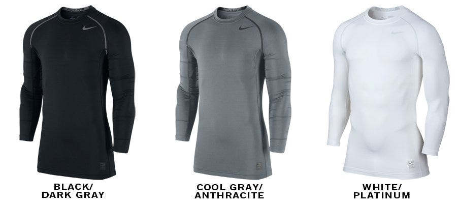 Nike Pro Hyperwarm Sr. Compression Long Sleeve Top