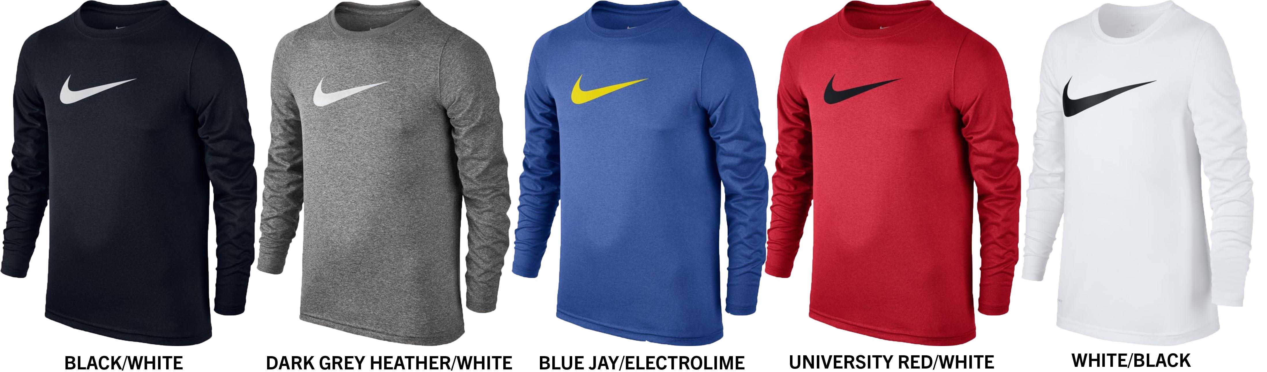 e6aab9b91a Nike Dri Fit Boy S Baseball Training T Shirt