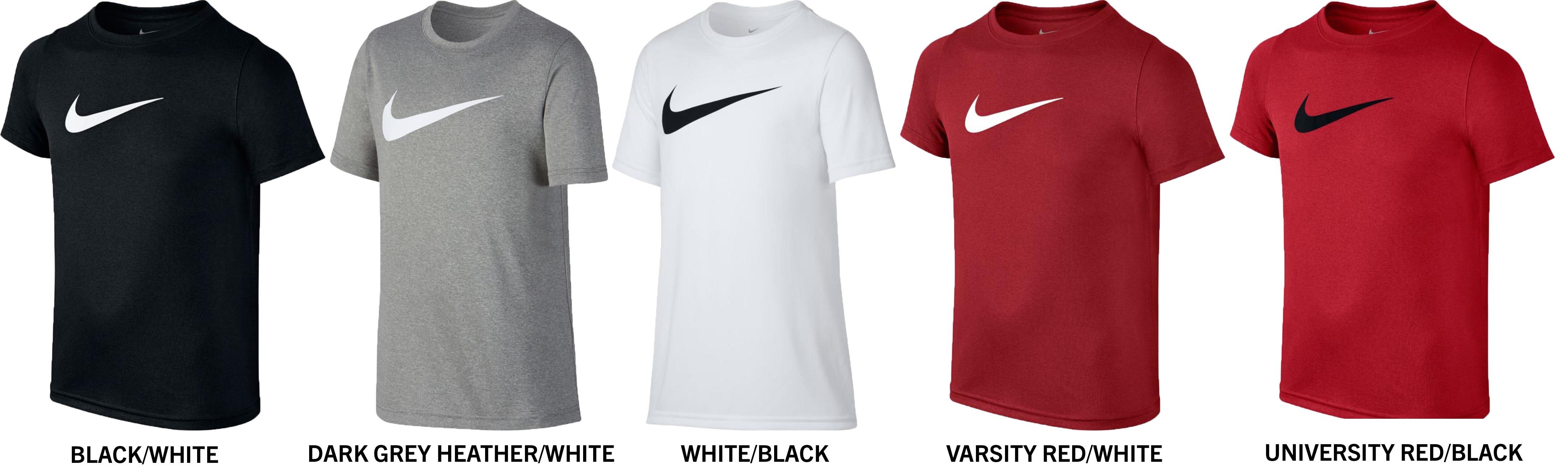 cd1d05fb8b98cb Nike Dri-FIT Boy s Short Sleeve Training T-Shirt