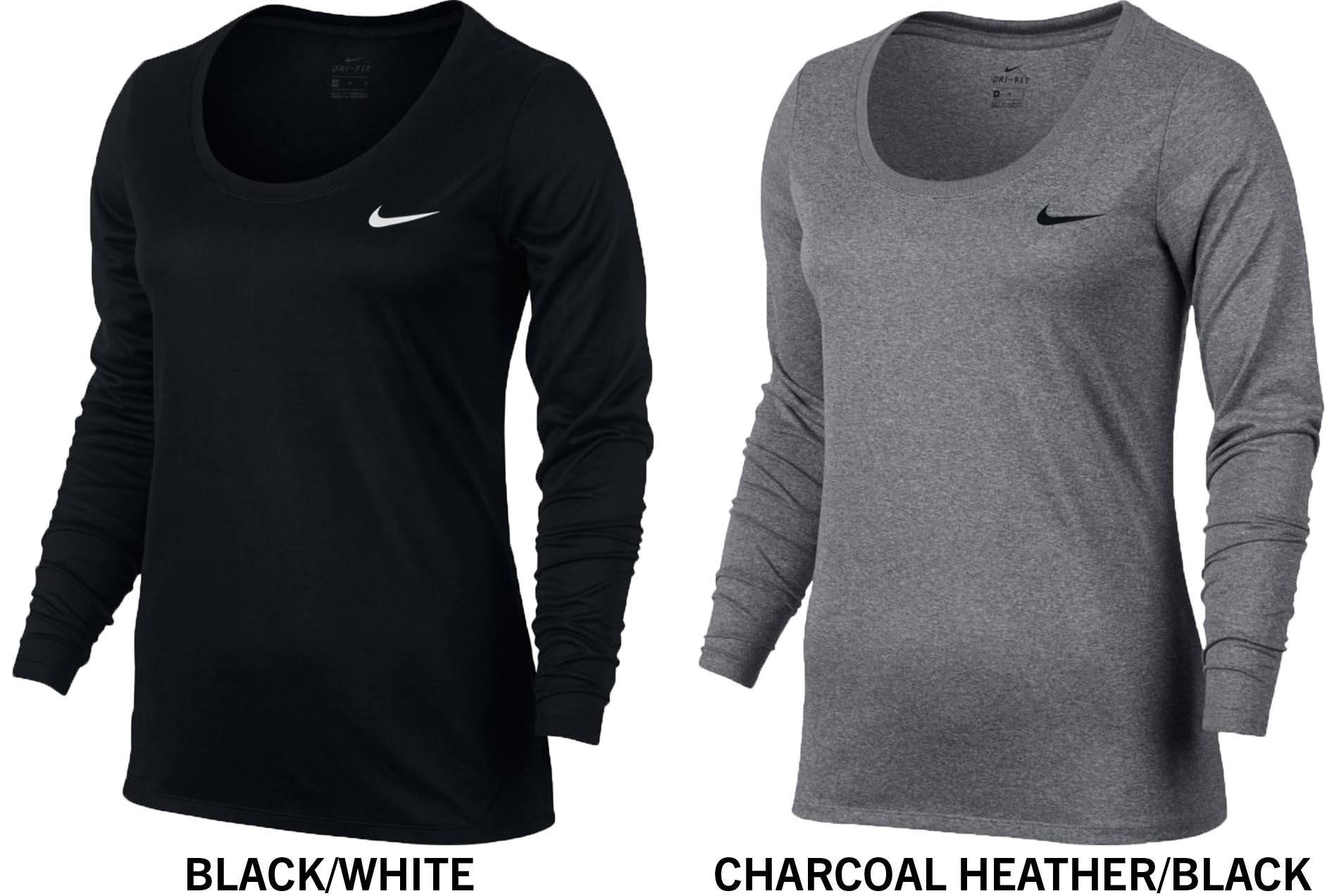 8cad5128ba2f Nike Dri-FIT Legend Women s Long Sleeve Training T-Shirt