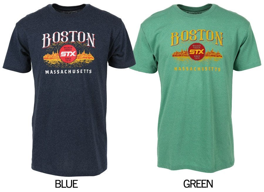 STX Boston Lacrosse Tee