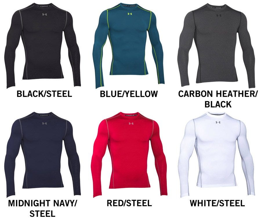 Under Armour ColdGear®Armour Compression Crew Men's Long Sleeve Shirt