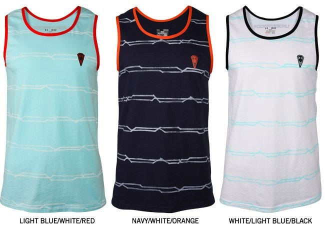 Under Armour Monster Striped Lacrosse Tank Top