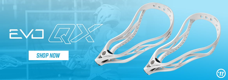 Warrior EVO QX Lacrosse Head Now Available