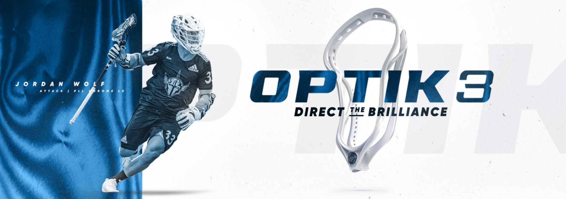 Maverik Optik 3 Unstrung Lacrosse Head